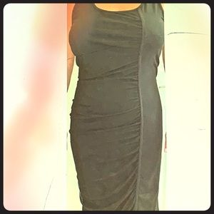 DNKY Black Sleeveless Dress